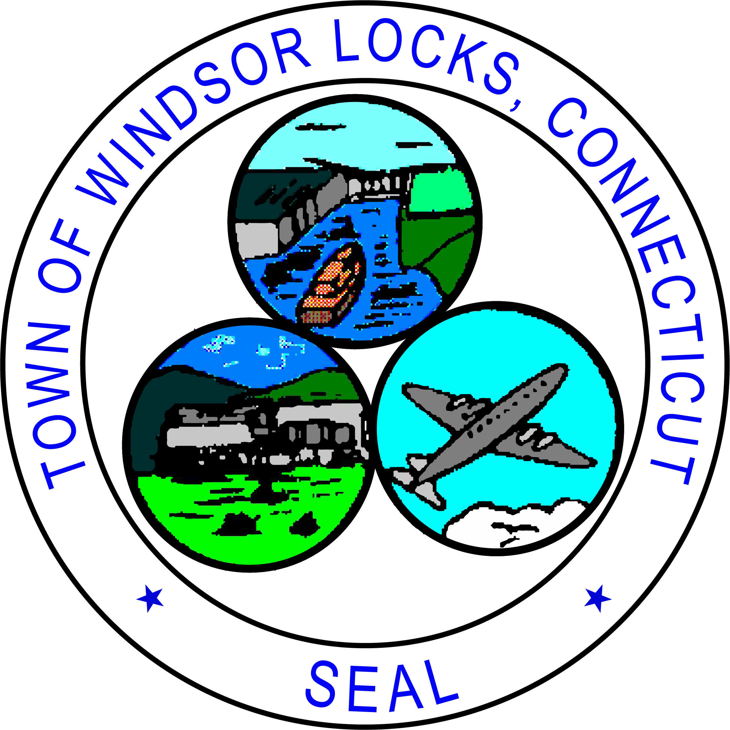 windsor locks logo